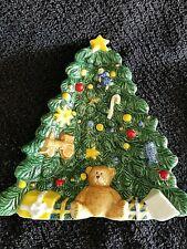 Nikko Christmas Ceramic Serving Dish Candy Dish
