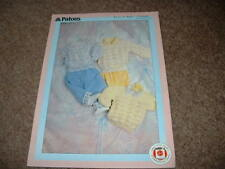 Baby's Easy Knit Sweater - Patons Double Knitting Pattern