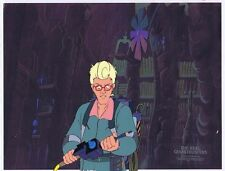 The Real Ghostbusters Original Production Animation Cel & Copy Bkgd #A20555