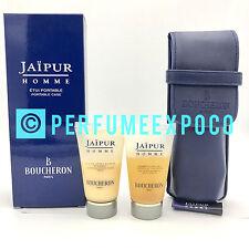 Jaipur Homme Boucheron TRAVEL SET 0.85oz-25ml AFTERSHAVE BALM & SHAMPOO (H