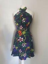 Karen Millen Floral Dress Uk 8 Us 4 Eu 36