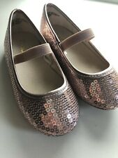 The Childrens Place Toddler Girl Shoes Sparkle Flats Size 7 Cute Fashionable
