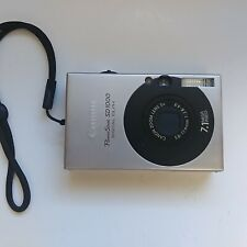 Canon PowerShot SD1000 Digital ELPH 7.1MP Digital Camera, Not Tested and As Is