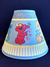 "Baby Sesame Street Fabric Children's Lamp Shade 10"" wide"