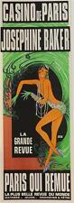 Casino de Paris Josephine Baker Poster Fine Art Lithograph Zig Louis Gaudin S2