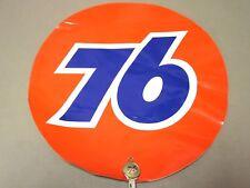"Vintage Union 76 Oil "" Decal Original 12"" Round"