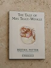 BEATRIX POTTER BOOK  THE TALE OF MRS TIGGY-WINKLE  WITH A DUST JACKET