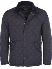 Barbour Mens Chelsea Sportsquilt Black Jacket Size Small