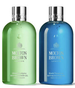 Molton Brown Blissful Templetree & Infusing Eucalyptus Bath & Shower 300ml Set