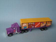 Matchbox Convoy Peterbilt Box Truck Nickelodeon Usa cuestión En Caja De Juguete Modelo