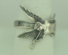 Beautiful 925 Sterling Silver Los Angeles Spoon Ring