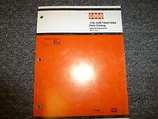 Case 1190 1290 1390 1490 1690 Tractor Special Equipment Parts Catalog Manual
