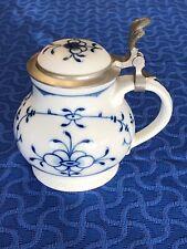 Royal Tettau Bavaria German Ceramic Beer Stein Pewter Lid Original Model Alt