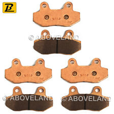 FRONT REAR Sintered Brake Pads for HYOSUNG Comet GT 650 (Naked) 2007-2008