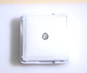Edelsteine24 Naturdiamant Diamond Rosenschliff 4,2x3,5mm 0,13 Karat! D-419