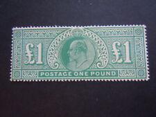 Gran Bretagna 1902 Edward VII Rarissimo perfetto francobolli nuovo M.N.H**RRR 3