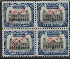 Peru SC 166 Block of Four, Two Stamps MNH (8dtx)