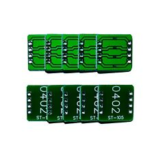 0402 SMD to DIP Breakout Board PCB Breadboard Adapter - 10 Pieces - ST-105