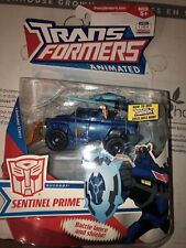 Transformers Animated Sentinel Prime 2008 Deluxe MOSC Hasbro