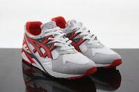 $140 Asics Men Gel-Kayano Premium white fairy red lyte v H403N-0123 fashion