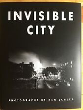 SIGNED Ken Schles INVISIBLE CITY First Printing 2014 Steidl Mint