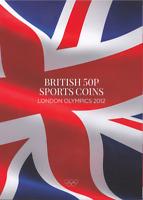 Coins Album 50p 2012 London Olympic Games Collectors Album  GIFT [C]
