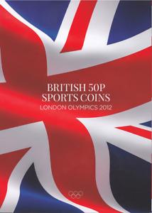50p Olympic Coins Album 2012 London Games Collectors Album [C] TH