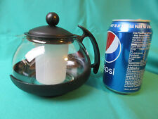 Glass Teapot with Infuser by The Café Club