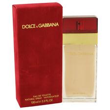 D & G RED by Dolce & Gabbana 3.3 / 3.4 oz Eau De Toilette Spray for Women NIB