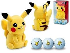 Bridgestone Golf Pocket Monster Pikachu Ball 6 Set Plush Doll Pouch Set Kawaii
