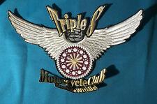 USA: Patch: Triple S Motorcycle Club Aufnäher - Rückenaufnäher  (9)
