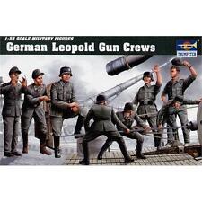 TRUMPETER GERMAN Leopold Gun Crew Kit 1:35 SCALE