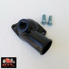Black Steel Water Neck Thermostat Housing Small Big Block Chevy 12 Npt Port