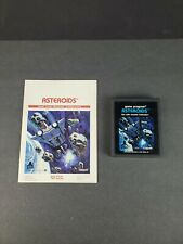 Asteroids (Atari 2600, 1981) Game Cartridge w/Manual CX2649