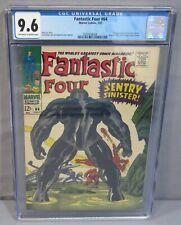FANTASTIC FOUR #64 (Kree Sentry 1st appearance) CGC 9.6 NM+ Marvel Comics 1967