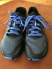 Merrell Womens Bare Access Flex Shield Running Hiker Shoes Black Blue,Size:6 NEW