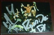 X-Pac Road Dogg Billy Gunn Signed 2000 Comic Images WWF Card #32 PSA/DNA COA WWE