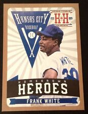 FRANK WHITE #HH10 ROYALS Gold Version Homegrown Heroes 2013 Hometown Heroes