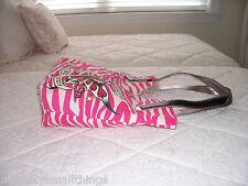 NWT Ed Hardy KAREN Tote Bag Pink Tattos