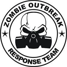 Zombie brote equipo de respuesta Funny car/ipad Jdm Vw Euro Vinilo calcomanía adhesivo