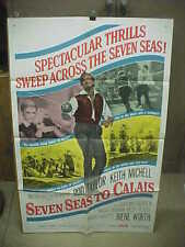 SEVEN SEAS TO CALAIS, orig 1-sh [Rod Taylor]