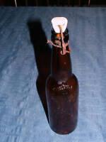 VINTAGE CUMBERLAND MD BREWING CO PORCELIN BEER BOTTLE