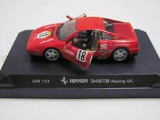 MATCHBOX DETAIL CAR ART 122  FERRARI 348TB RACING GC.1:43 SCALE OPENING DOORS W+