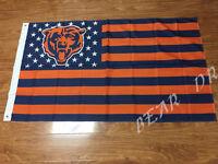 Chicago Bears 3x5 Feet Banner Flag