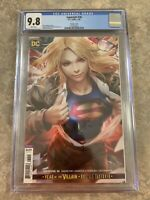 Supergirl #36 CGC 9.8 Derrick Chew Cover DC Super For Best Top Art Fast Shipping