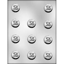 25 Number Chocolate Candy Mint Mold Birthday Age Service Anniversary Twenty Five
