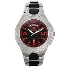 Croton Men's CA301287SSRD Quartz Super C Rotating Bezel Red Markers 48mm Watch