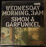 "Simon and Garfunkel-""Wednesday Morning, 3am"" Columbia Records CS 9049 Vinyl LP"