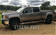 Paintable Black 07-13 GMC Sierra 1500 Bolt On OE Fender Flares 6.5FT 8FT Beds
