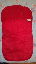 NEW Mothercare Red all weather cosytoes RRP £34.99
